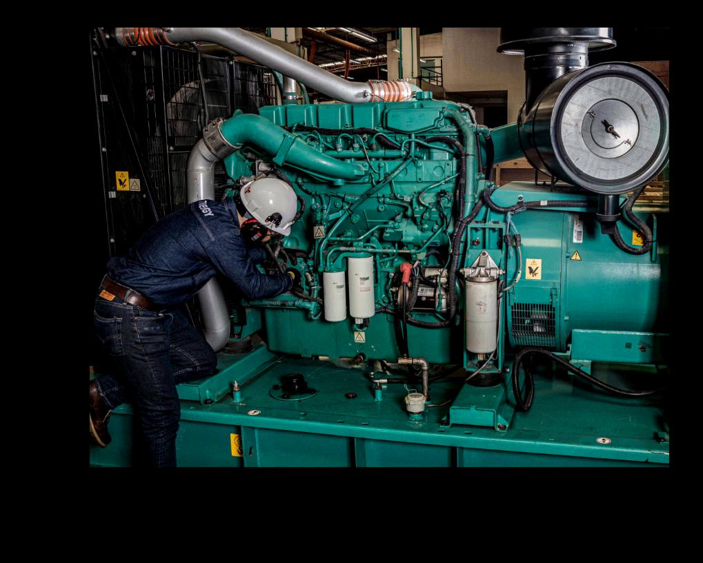 montaje planta eléctrica cummins, Trienergy Energía, plantas eléctricas bucaramanga, cummins power generation