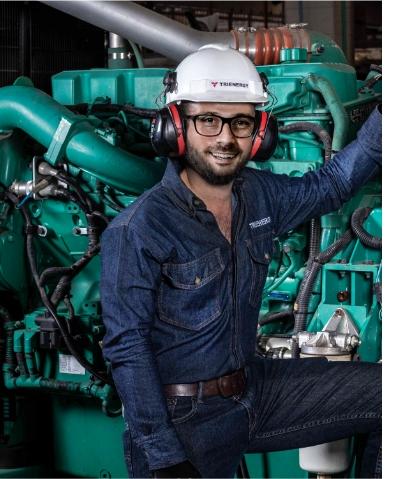 Profesionales certificados, Trienergy Energía